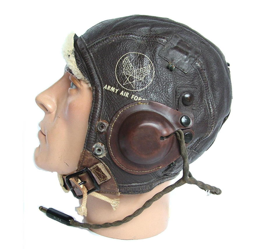 WW2 USAAF & USN Flying Helmets