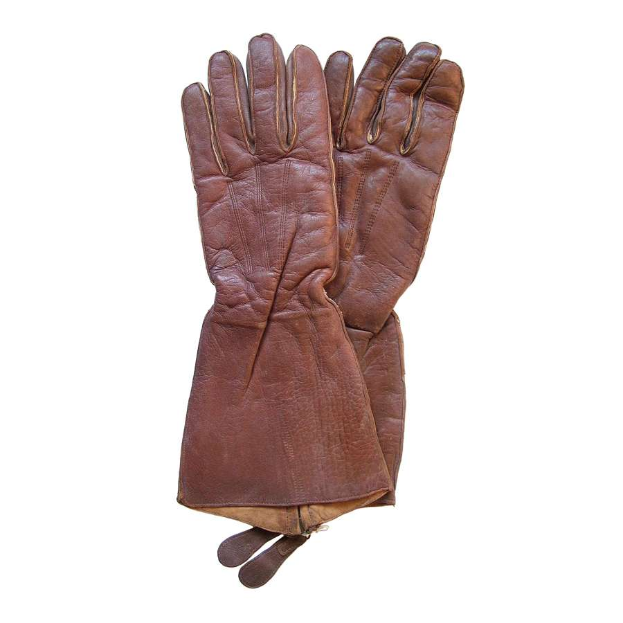 WW2 RAF Flying Gloves