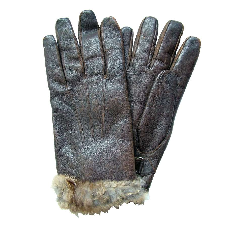 WW2 Luftwaffe Flying Gloves