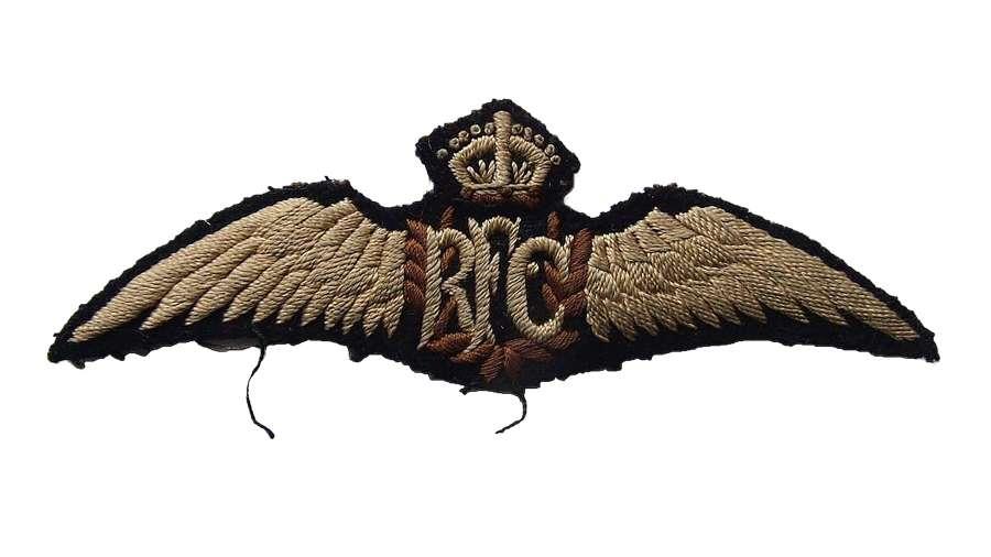 WW1 RFC & Interwar Insignia