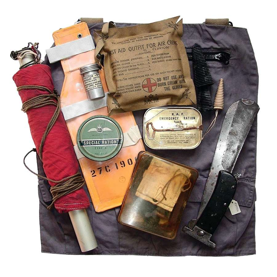 WW2 RAF Survival Equipment