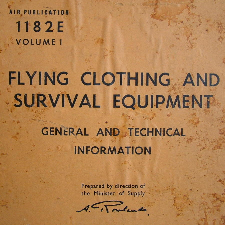 Post WW2 Survival Equipment