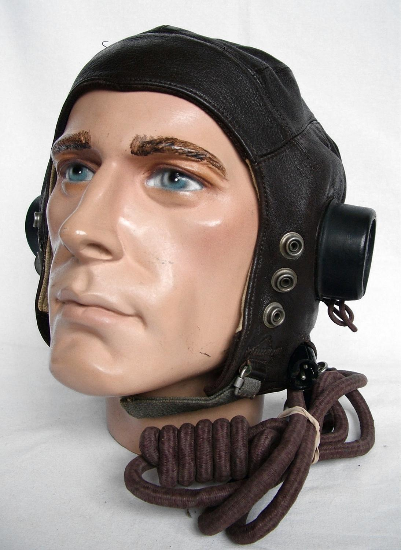 RAF C-type Flying Helmet - 1st Late Pattern