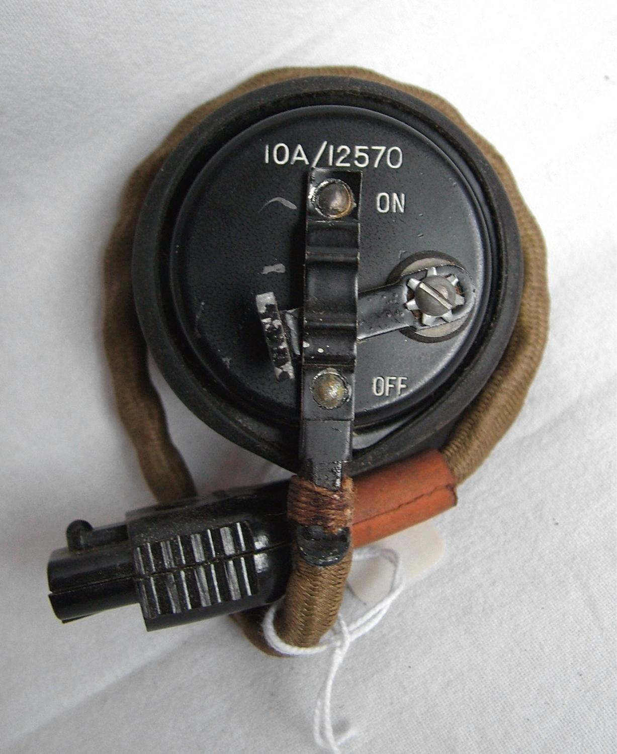 RAF Type 48 Microphone Assembly