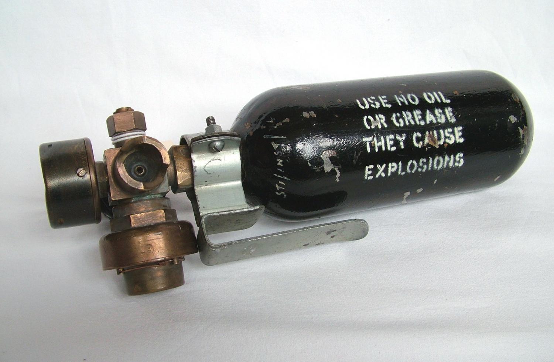 RAF Portable Oxygen Cylinder, MK.1A