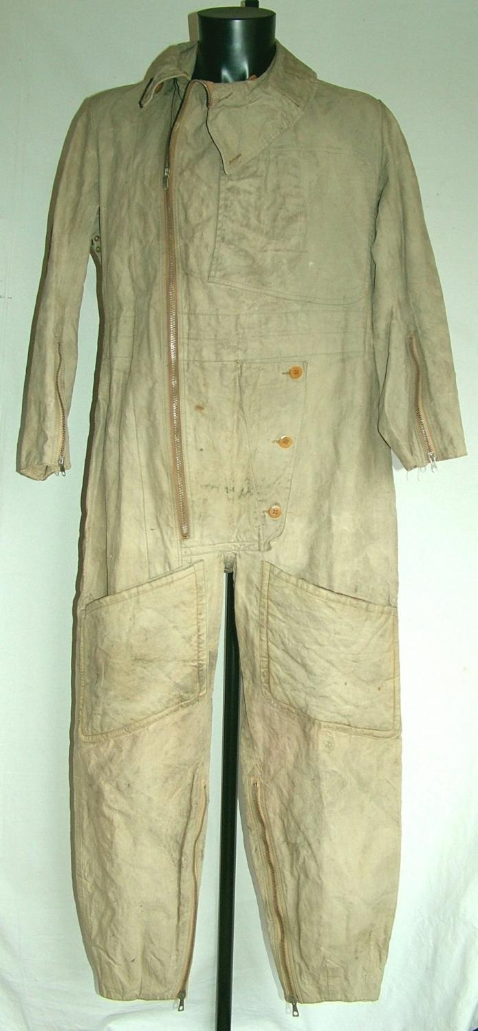 RAF 1930 Pattern Sidcot Flying Suit