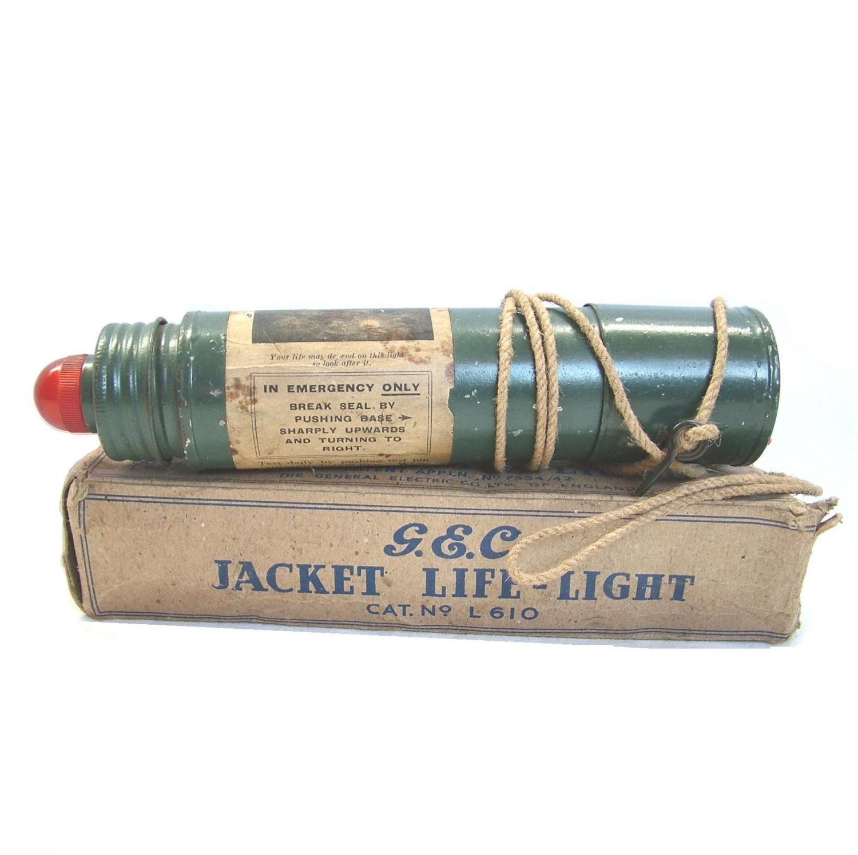 RAF / FAA 1941 Patt. Mae West Flotation Lamp