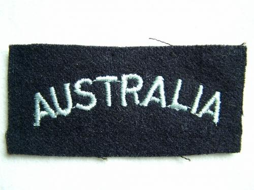 RAF 'Australia' Nationality Title
