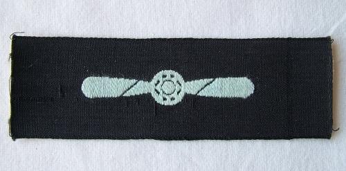 RAF LAC Sleeve Badge