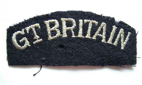 RAF 'Great Britain' Nationality Title