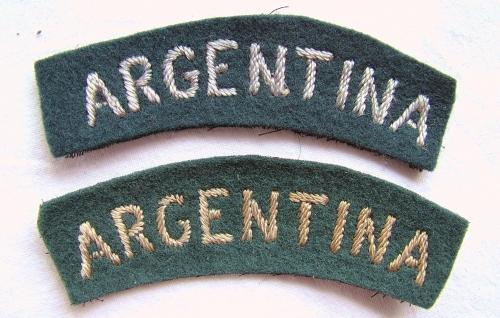 RAF 'Argentina' Nationality Titles