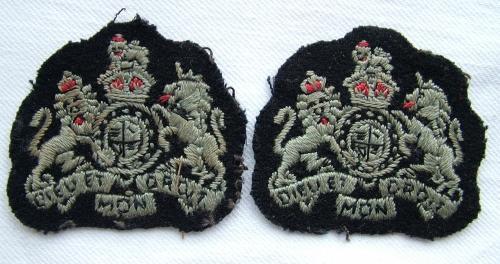 RAF Warrant Officer Badges