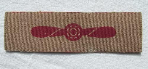 RAF Tropical LAC Patch