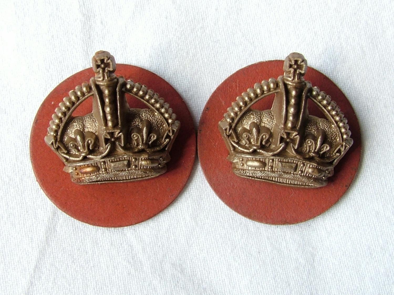 RAF Flight Sergeant Crowns