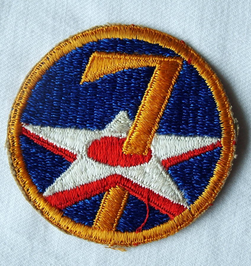 USAAF 7th AAF Shoulder Patch