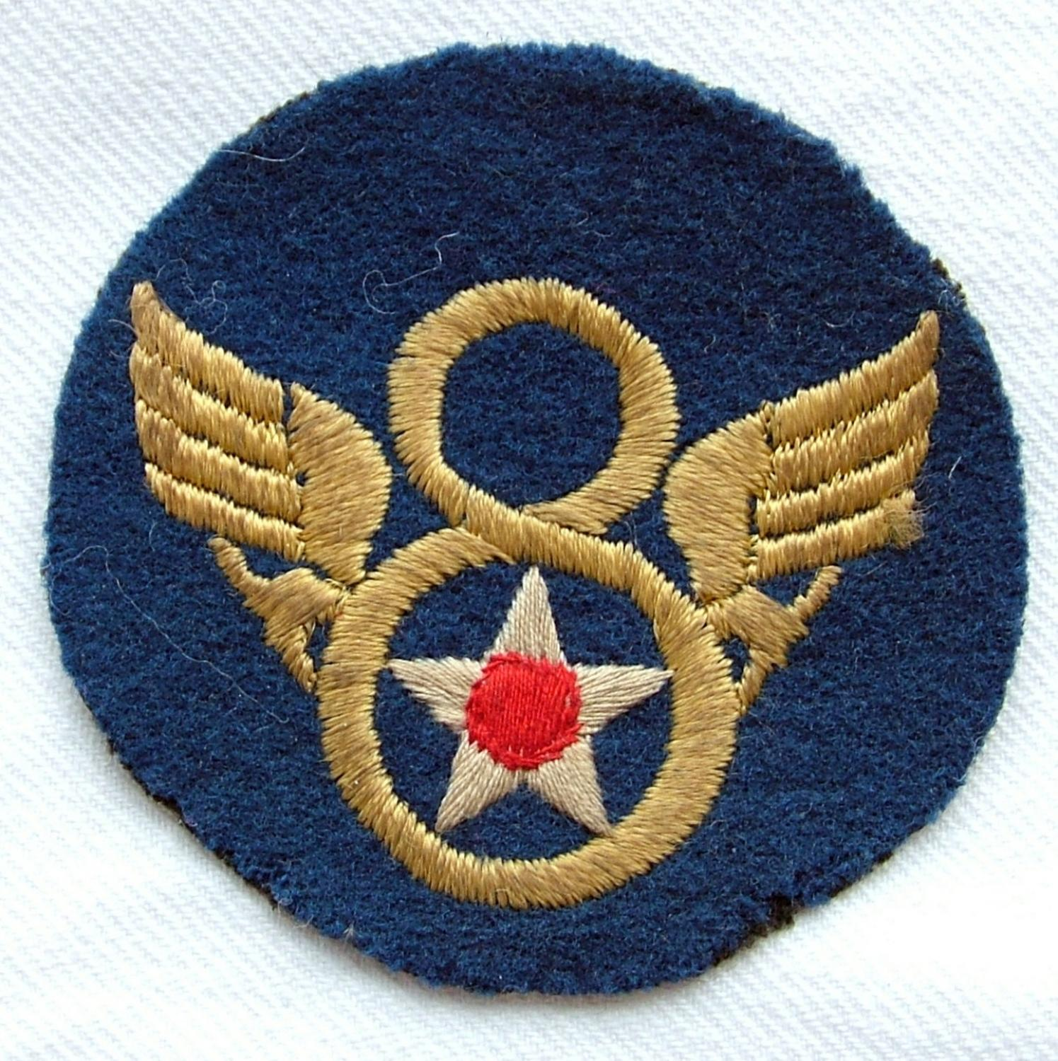 USAAF 8th AAF Shoulder Patch - English Made