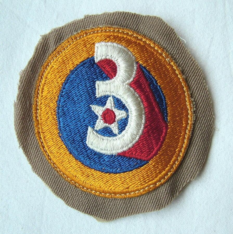 USAAF 3rd AAF Shoulder Patch