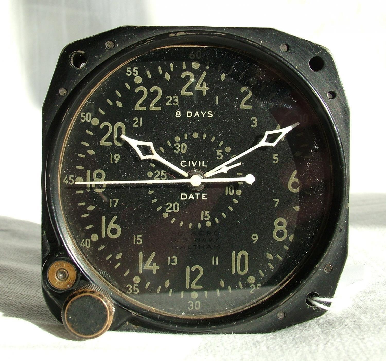 U.S. Navy Aircraft Clock