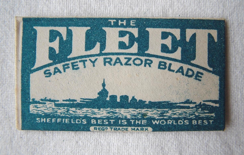 RAF / S.O.E. Razor Blade Compass