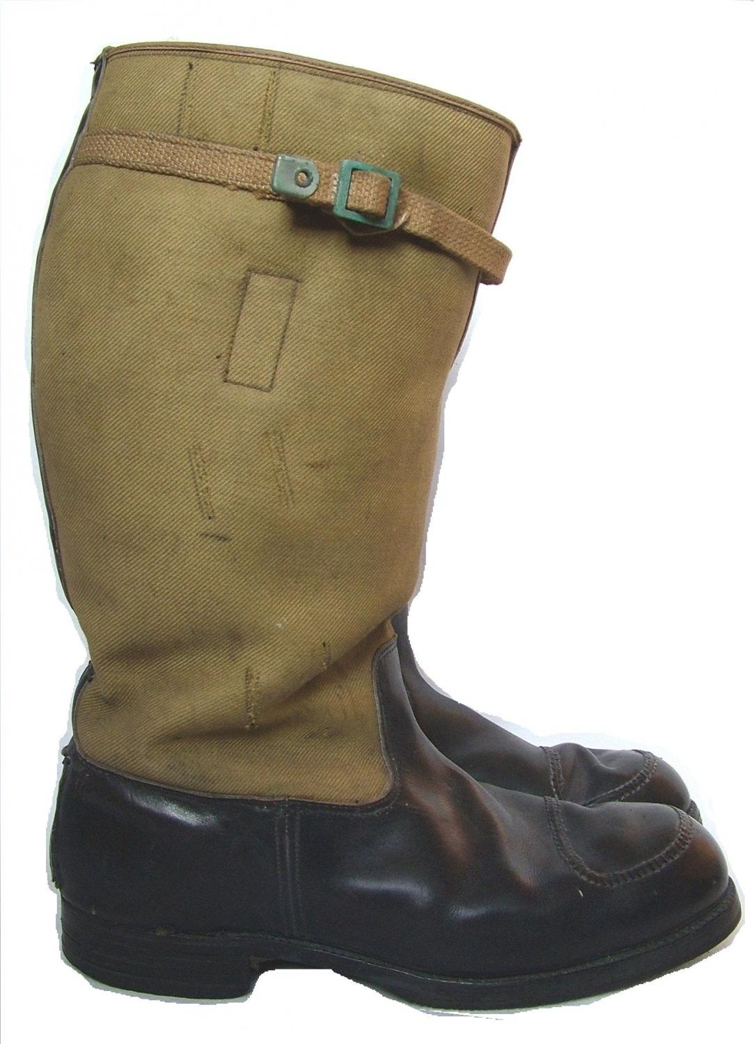 RAF 1939 Pattern Flying Boots - Modified