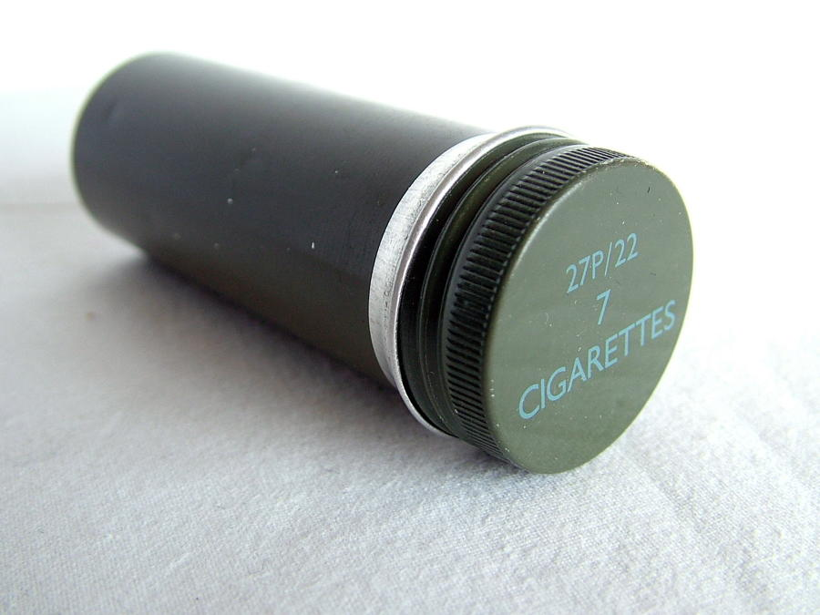 RAF Beadon flying suit cigarette container