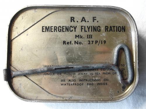 RAF Emergency Flying Ration. MK.III