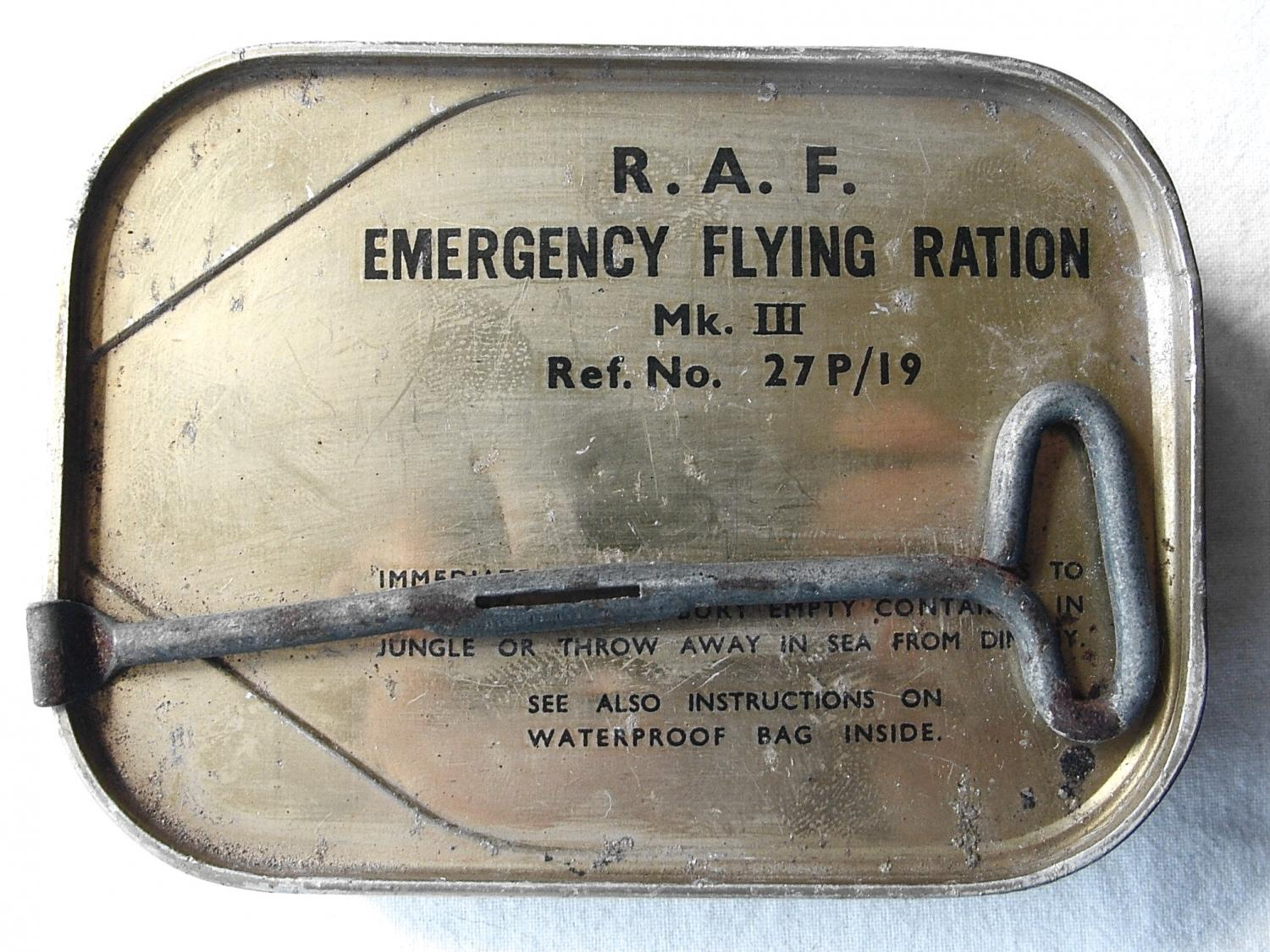 RAF Emergency Flying Ration. MK.III