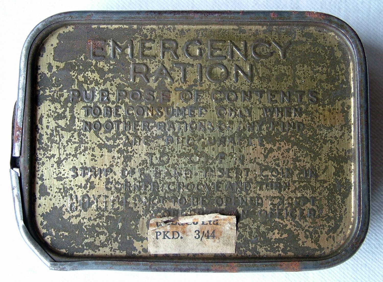 WW2 British Emergency Ration - Full