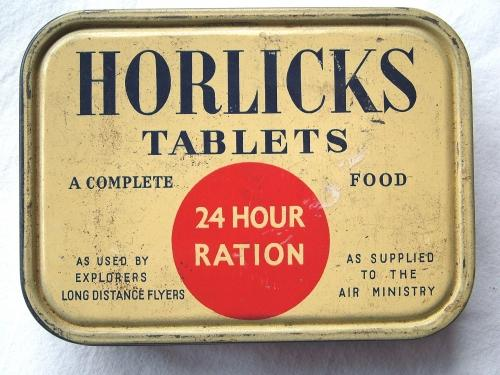 Horlicks Tablets 24 Hour Ration Tin