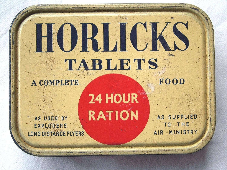 Horlicks Tablets 24 Hour Ration Tin