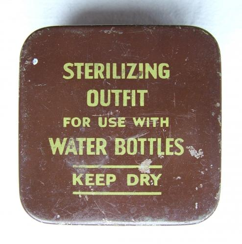 RAF Issued Water Sterilizing Tablets