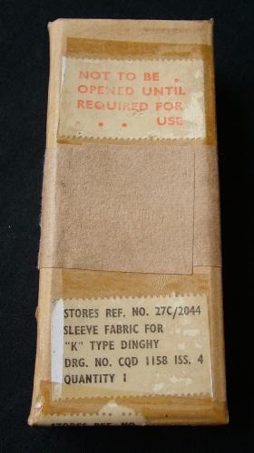 RAF Type K Dinghy Inflation Cylinder Sleeve