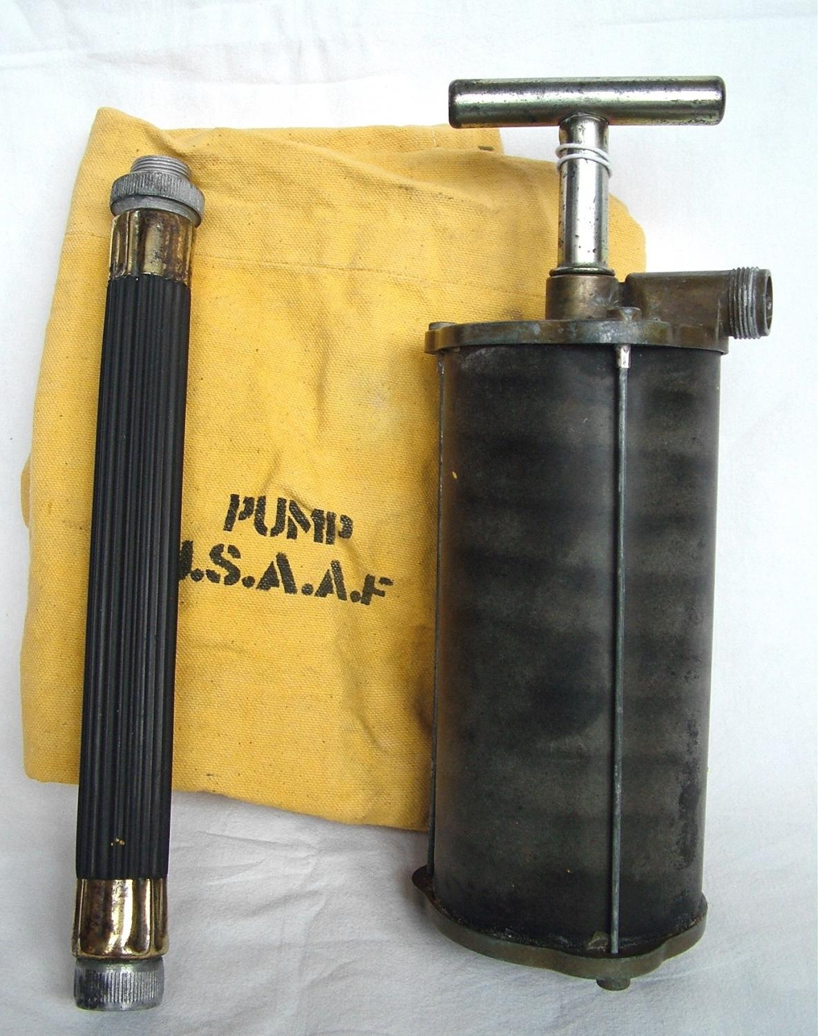 USAAF / USAF Dinghy Pump