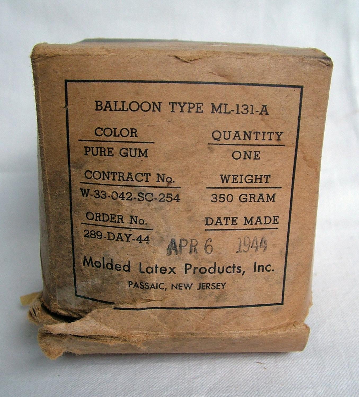 USAAF Dinghy Balloon, Boxed
