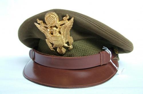 USAAF Officers' 'Chocolate' Visor Cap