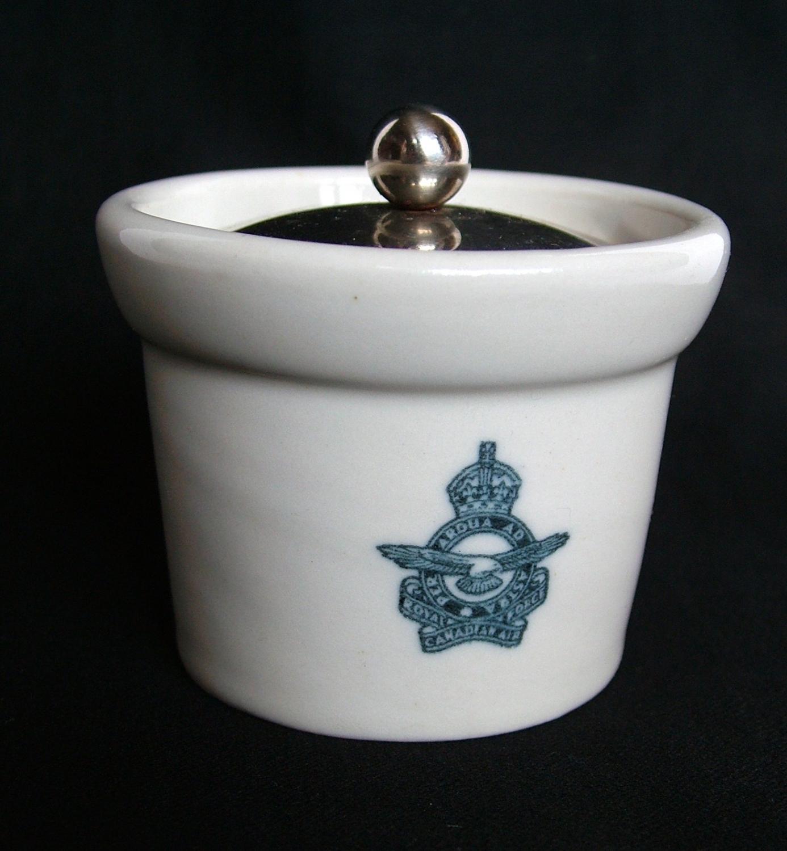 RCAF Mustard Pot