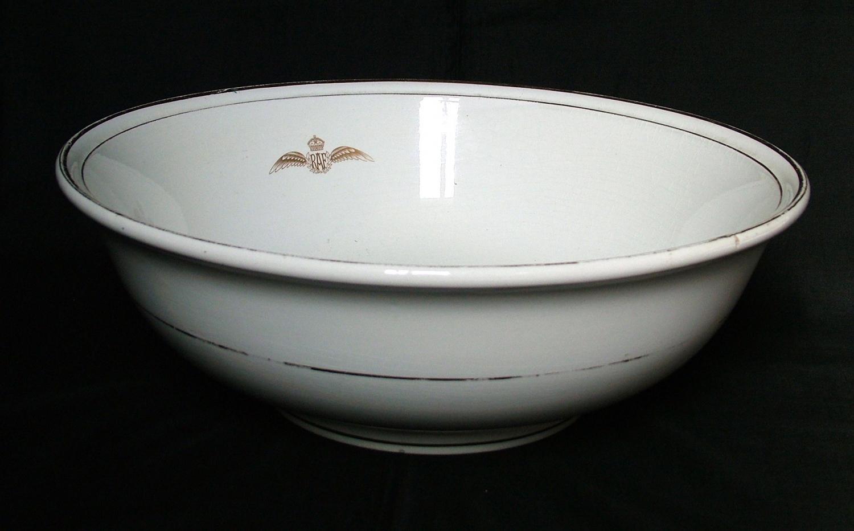 RAF Officer's Washing Bowl
