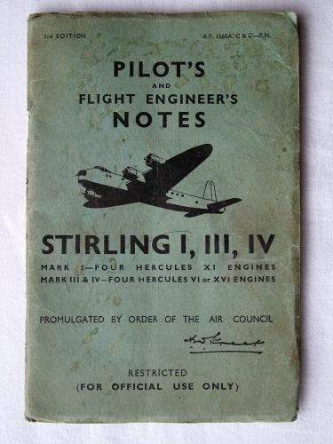 R.A.F. Pilot's Notes : Stirling I, III & IV