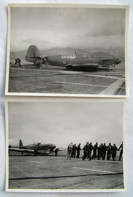 Official FAA HMS Ravager Photos x 2