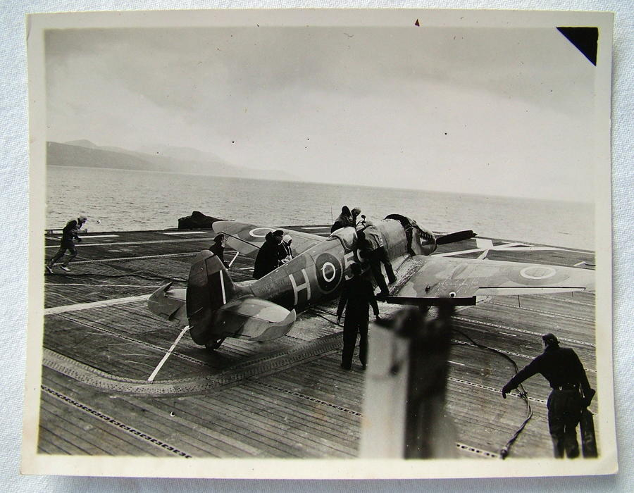 FAA HMS Ravager Photo - Spitfire