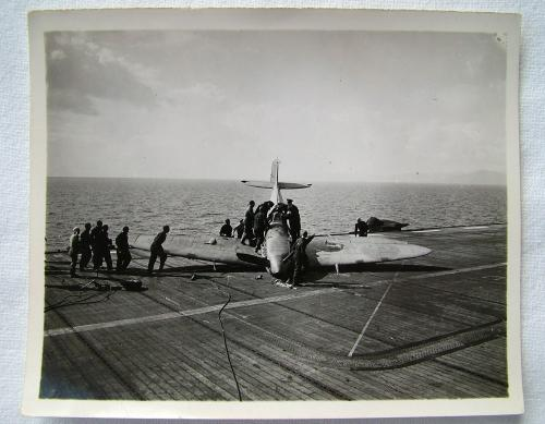 FAA HMS Ravager Photo #2 - Spitfire
