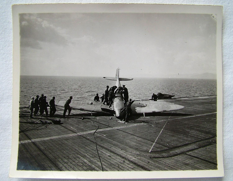 FAA HMS Ravager Photo #2 - Spitfire
