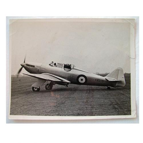 RAF Press Photo - Boulton Paul 'Defiant'