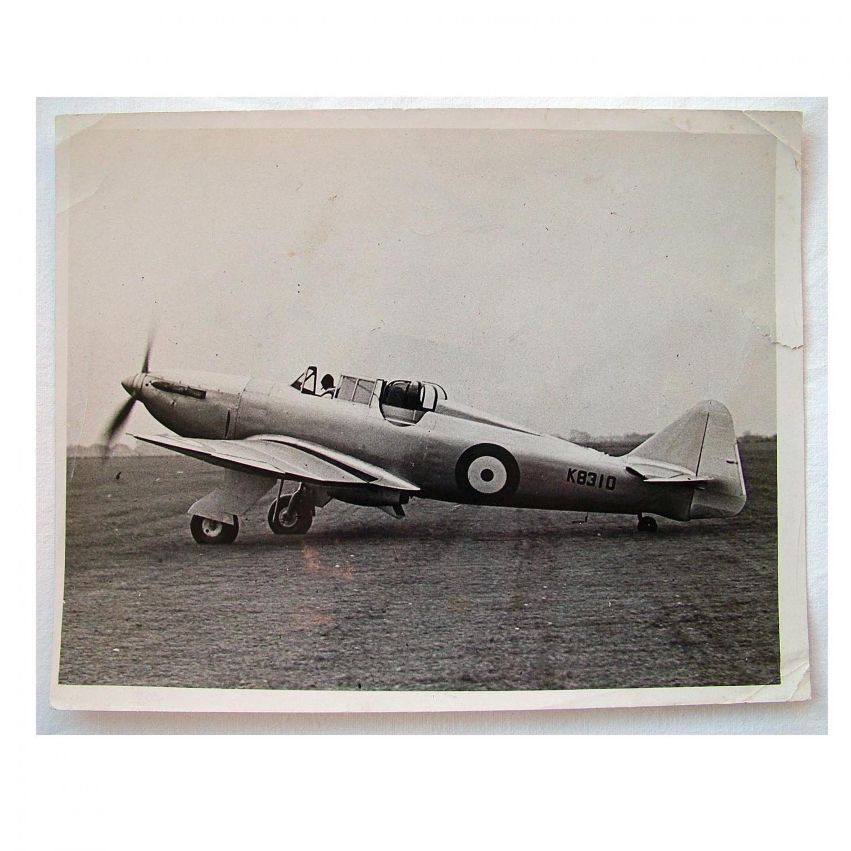RAF Press Photo - Boulton Paul 'Defiant'