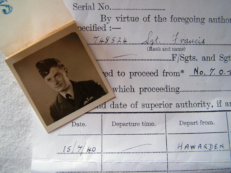 RAF Battle of Britain Pilot Photo