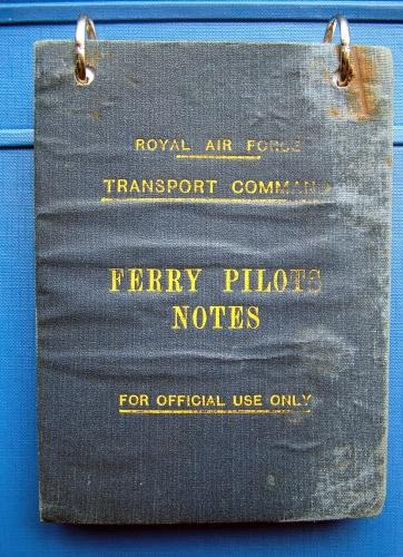 RAF Transport Command Ferry Pilot Notes