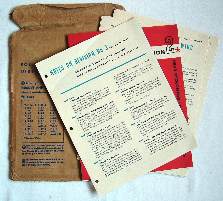 USAAF Navigator's Info File Amendment
