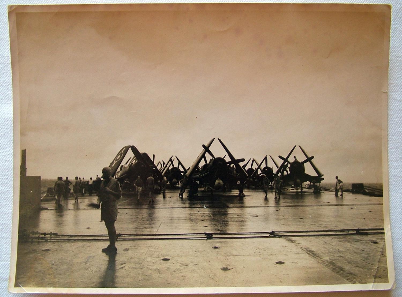 USAAF Corsairs On HMS Formidable