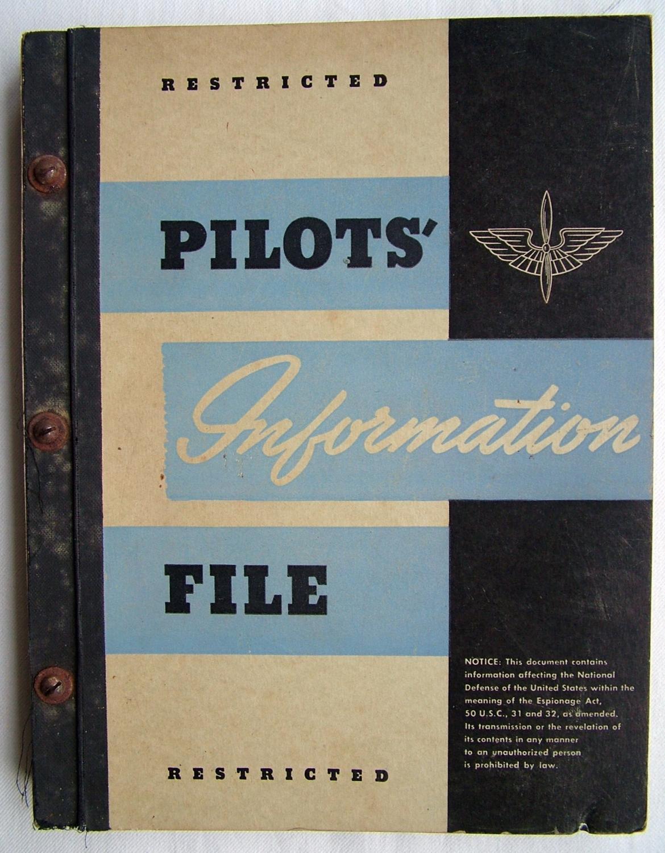 USAAF Pilot's Information File