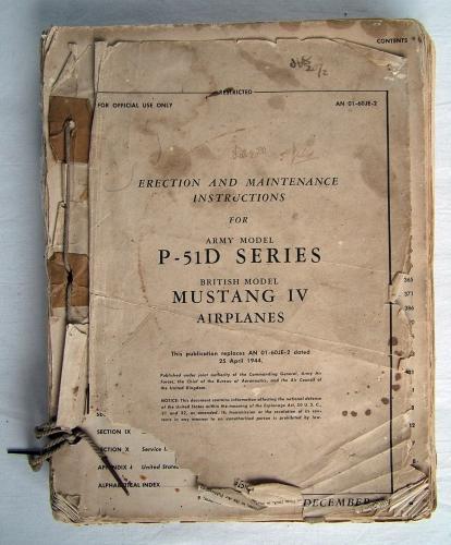 USAAF 'Mustang' IV Maintenance Manual